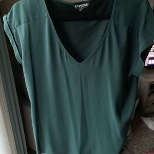 Army Green Express Blouse